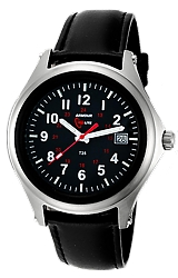 ArmourLite Captain's Field Watch, Tritum Illuminated 38mm MidSize Watch