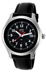 ArmourLite Captain's Field Watch, Tritum Illuminated 38mm MidSize Watch