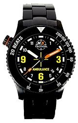 H3 Tactical Emergency Medical Technician EMT Color Tritium Watch
