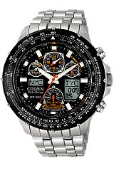 Citizen Skyhawk Watch, Pilot's Watch, AT Atomic Time TITANIUM Case & Bracelet (JY0010-50E)