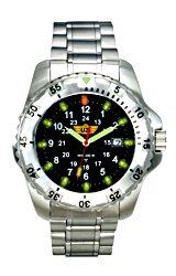 UZI Defender Stainless Steel Tritium Watch