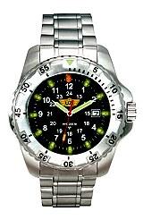 UZI Defender Titanium Tritium Watch